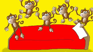 Five Little Monkeys bed