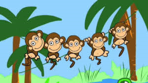 Five Little Monkeys Tree