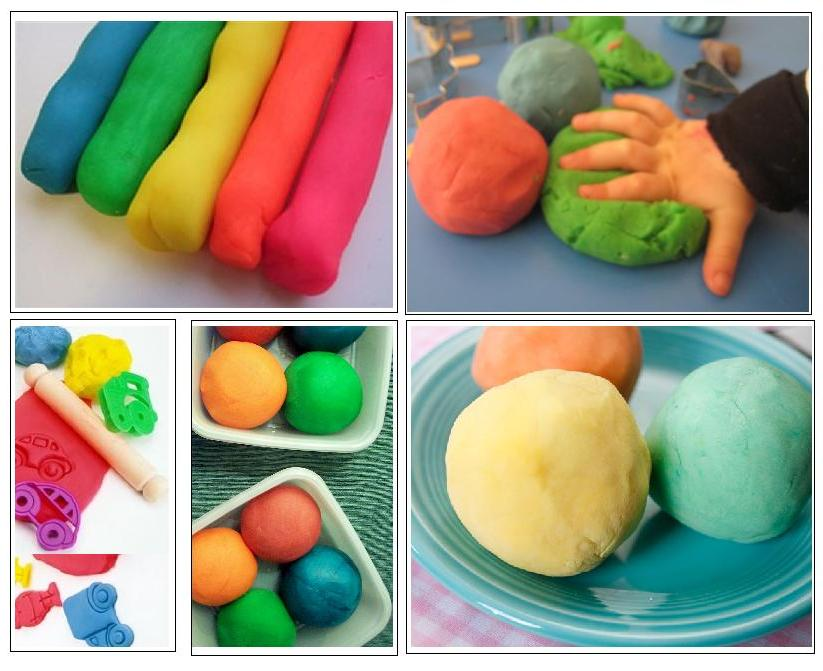 Usando play dough (massa de modelar) de forma criativa (1/2)